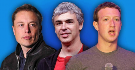silicon valley execs – musk page zuck