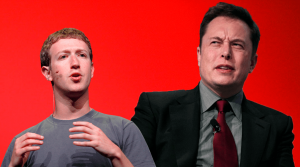 Elon Musk and Mark Zuckerberg